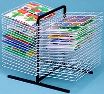A3 Desktop Drying Rack 40 Shelf