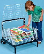 A2 Spring Loaded Drying Rack 10 Shelf