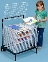 A2 Spring Loaded Drying Rack 20 Shelf