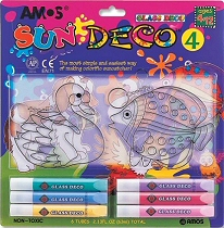 Sun Deco 4 Suncatcher Making Set