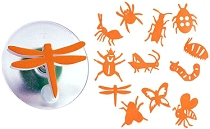 "Easy-Grip Bug Story Stampers 3"" (12 pieces)"