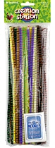 "Tiger Tail Pipe Cleaners 12"" Assorted Colours (Pack 40)"