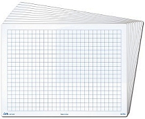 A4 10mm Grid/Blank Whiteboards 1000 micron (Set 30)