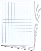 A4 20mm Grid/Blank Whiteboards 1000 micron (Set 30)