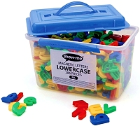 Magnetic Lowercase Letters 35mm (286 pieces)