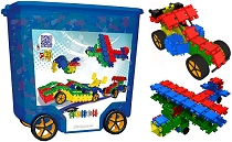 Clics Rollerbox Blue (800 pieces & building plans)