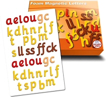 Magnetic Foam Letters Phase 2 (Set 42)