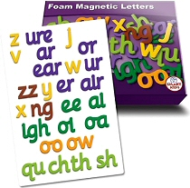 Magnetic Foam Letters Phase 3 (Set 26)