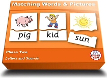 Matching Words & Pictures Phase 2