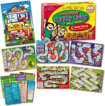 6 Personal, Health, well Being & Safety Board Games