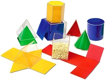 3D Folding Geometric Shapes 8cm (Set 16)