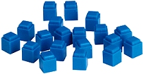 Linking Base Ten Units/Ones Blue (100 pieces)