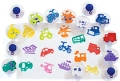 "Easy-Grip Transportation Stampers 3"" (14 pieces)"