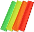 Fluorescent Crepe Paper Assorted Colours (Pack 4)