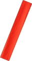 Red Fluorescent Crepe Paper 2.5M x .5M