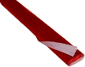 Red Metallic Crepe Paper 2.5M x .5M