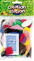 Assorted Foam Shapes (Pack 100)