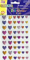 Adhesive Gemstones Hearts Assorted Sizes (Pack 54)