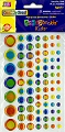 Adhesive Gemstones Circles Assorted Sizes (Pack 81)