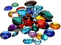 Gemstones Assorted Styles & Sizes (Pack 30)