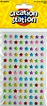 Adhesive Mini Gemstones Stars (Pack 96)