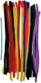 "Colossal Extra Long & Thick Pipe Cleaners 20"" Assorted Colours (Pack 50)"