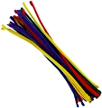 "Pipe Cleaners 12"" Assorted Colours (Pack 50)"