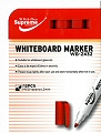 Teachers Whiteboard Markers Bullet Tip Red (Box 12)