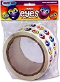 Adhesive Wiggly Eyes Stickers Coloured & Assorted Styles (2000 stickers)