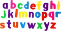 Magnetic Lowercase Letters 32mm (64 pieces)