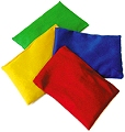 Coloured Bean Bags (Set 4)