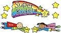 Kid-Drawn Super Kids Job Assignment Bulletin Board