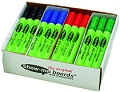 Pupils Whiteboard Pens Medium Tip Assorted Colours (Box 48)