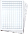 A4 20mm Grid/Blank Whiteboards (Set 30)