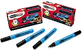 Pupils Whiteboard Pens Fine Tip Black (Box 10)