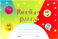 A5 Reward Chart Reading Award (25 sheets)