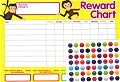 A4 Reward Chart (4 Reward Charts & 252 Stickers)