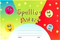 A5 Reward Chart Spelling Award (25 sheets)