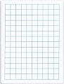 A4 Supertough 20mm Grid/Bank Whiteboard 1500 micron