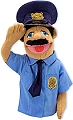 People Puppet Police Officer