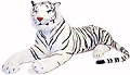 Giant Stuffed Animal White Tiger