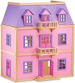 Multi-Level Doll House (Includes furniture)