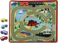 Round the Town Road Rug (Rug & 4 Cars)