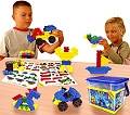 Morphun Junior Construction Set (200 pieces & building plans)