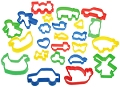 Fun Clay & Dough Cutters Assorted Sizes &