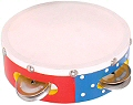 Snazzy Tambourine with 4 Pairs of Bells