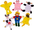 Finger Puppets Farm (Set 6)