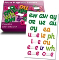 Magnetic Foam Letters Phase 5 (Set 18)