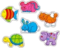 Baby Puzzles Pets (2 piece)