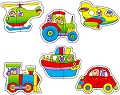 Baby Puzzles Transport (2 piece)